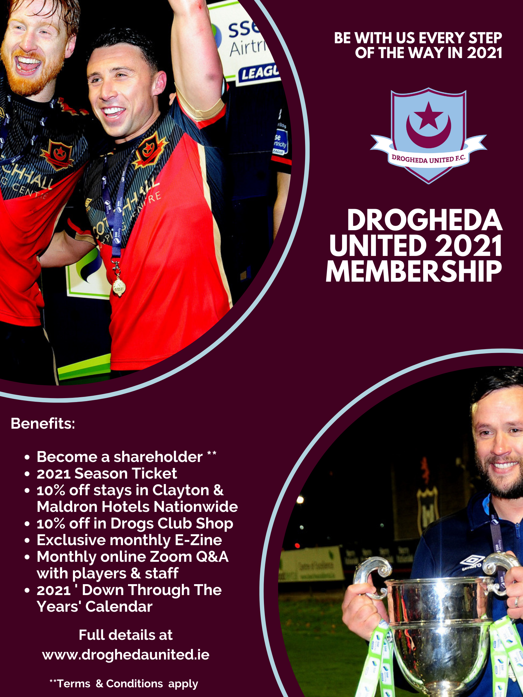 The Drogs Launch Club Membership Drive