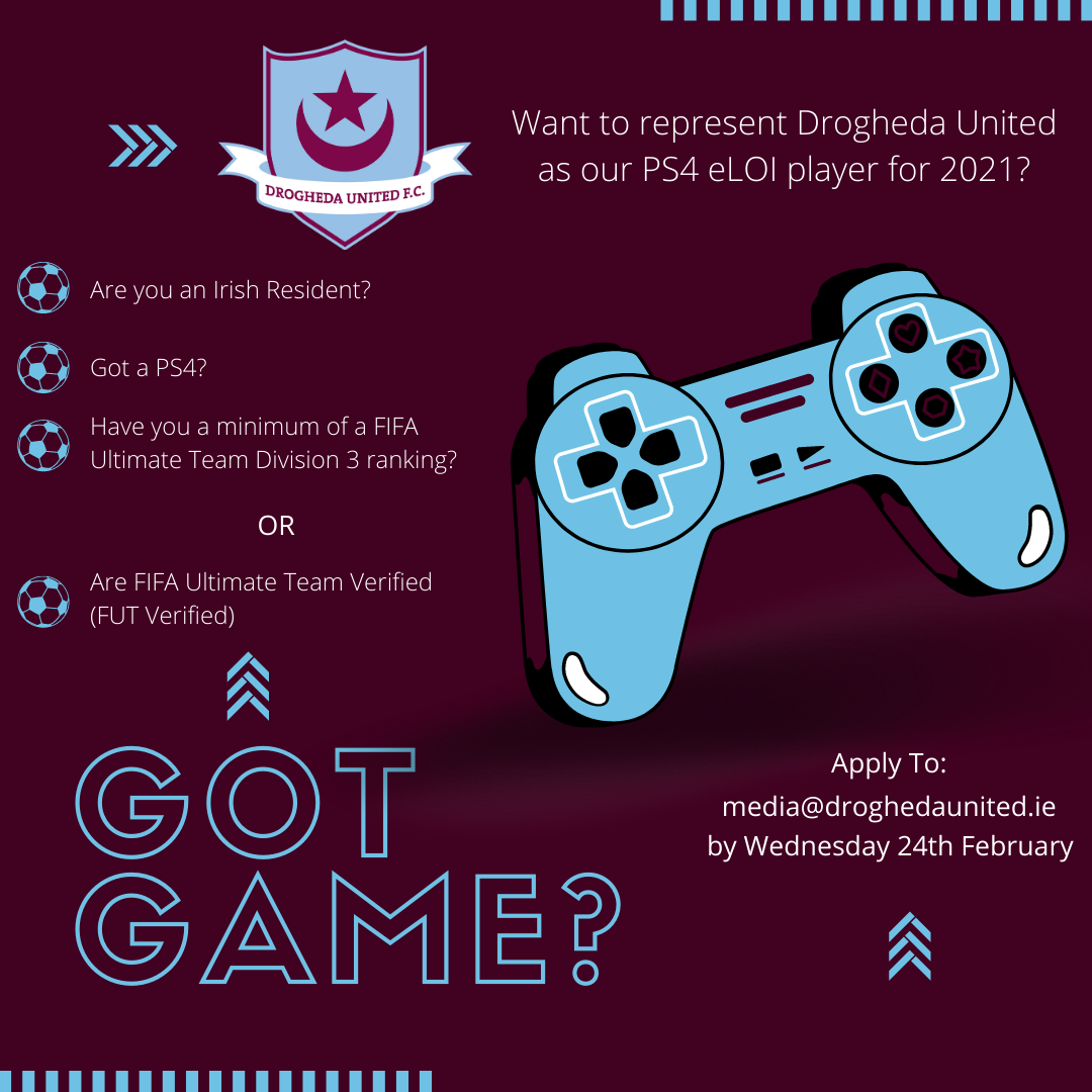 Got Game? We are Looking for our eLOI PS4 Player for 2021