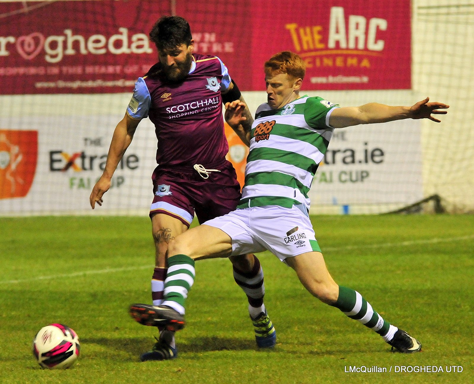 Match Pics: Drogs 0-1 Shamrock Rovers – SSE Airtricity Premier Division